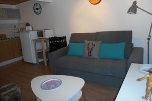 Apartment With one Bedroom in Huez, With Wonderful Mountain View - 100 m From the Slopes